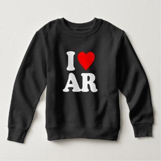 私はARを愛します スウェットシャツ