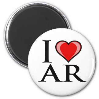 私はAR -アーカンソー--を愛します マグネット