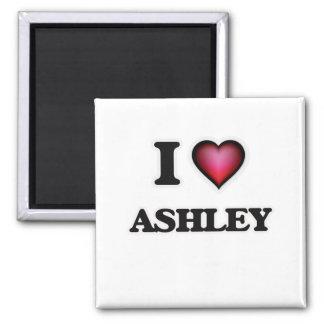 私はAshleyを愛します マグネット
