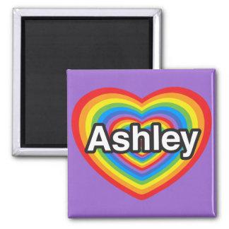 私はAshleyを愛します。 私はAshley愛します。 ハート マグネット