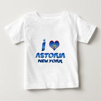 私はAstoria、ニューヨークを愛します ベビーTシャツ