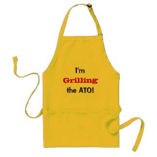 私はATO -オーストラリア税の冗談のエプロン--を焼いています スタンダードエプロン