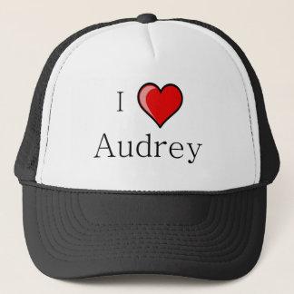 私はAudreyを愛します キャップ