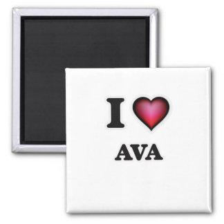 私はAvaを愛します マグネット