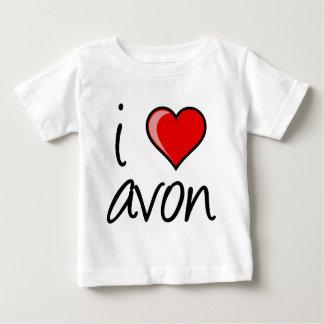 私はAvonスクエアを愛します ベビーTシャツ