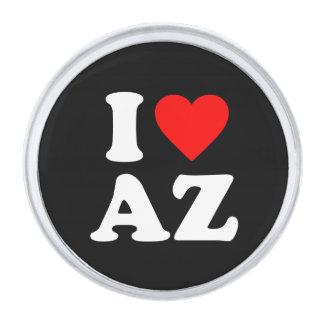 私はAZを愛します シルバー ラペルピン