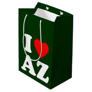 私はAZを愛します ミディアムペーパーバッグ