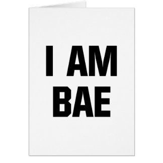 私はBaeです カード