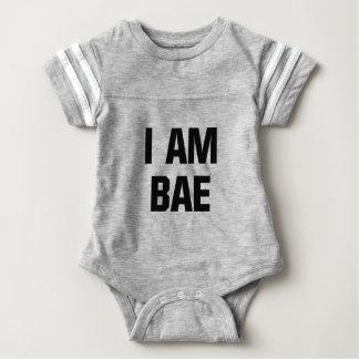 私はBaeです ベビーボディスーツ