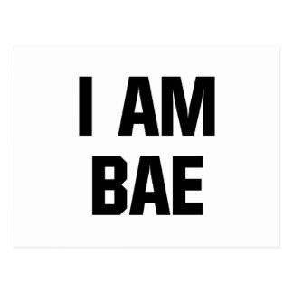 私はBaeです ポストカード