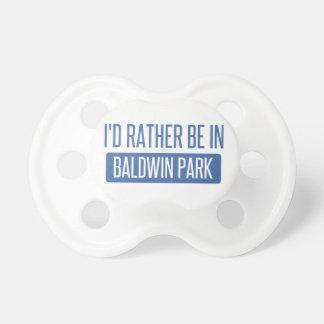 私はBaldwin公園にむしろいます おしゃぶり