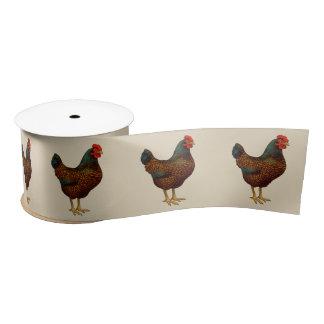 私はBarnevelderの私の鶏を愛します サテンリボン