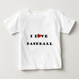 私はBaseball.pngを愛します ベビーTシャツ