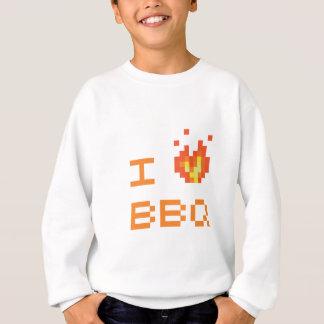 私はbbqを愛します スウェットシャツ