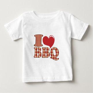 私はBBQを愛します ベビーTシャツ