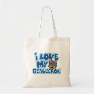 私はBeauceronの私のバッグを愛します トートバッグ