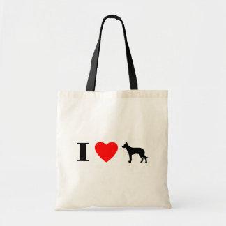 私はBeauceronsのバッグを愛します トートバッグ