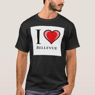 私はBellevueを愛します Tシャツ