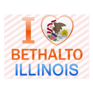 私はBethalto、ILを愛します ポストカード