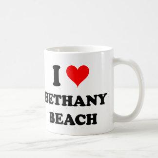 私はBethanyのビーチを愛します コーヒーマグカップ