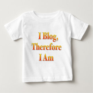 私はBlog ベビーTシャツ