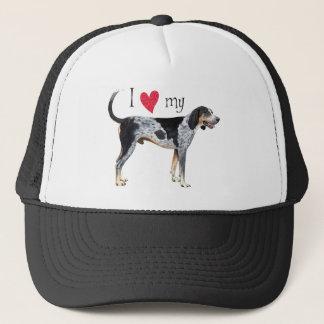 私はBluetickの私のCoonhoundを愛します キャップ