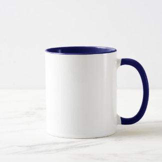 私はBluetickの私のCoonhound Pawprintを愛します マグカップ