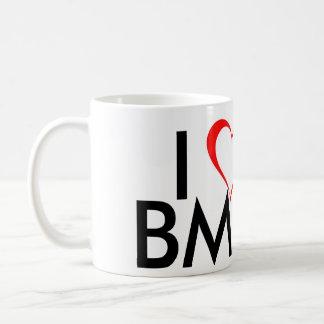 私はBMXを愛します コーヒーマグカップ