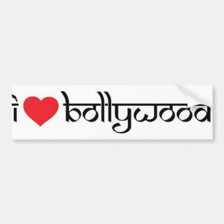 私はBollywoodのバンパーステッカーを愛します バンパーステッカー