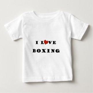 私はBoxing.pngを愛します ベビーTシャツ