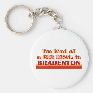 私はBradentonのちょっと大事です キーホルダー