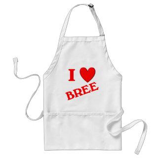 私はBreeを愛します スタンダードエプロン