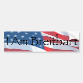 私はBreitbartです バンパーステッカー