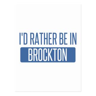 私はBrocktonにむしろいます ポストカード