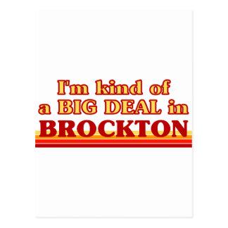私はBrocktonのちょっと大事です ポストカード