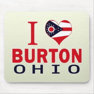 私はBurton、オハイオ州を愛します マウスパッド