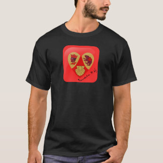 私はBXVIのTシャツを愛します Tシャツ