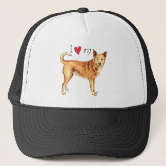 私はCanaan私の犬を愛します キャップ