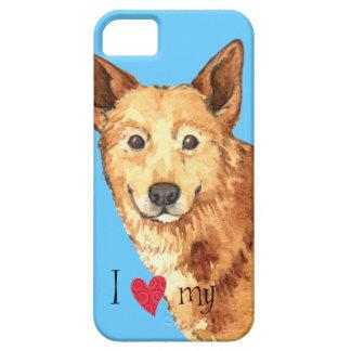 私はCanaan私の犬を愛します iPhone 5 Case-Mate ケース