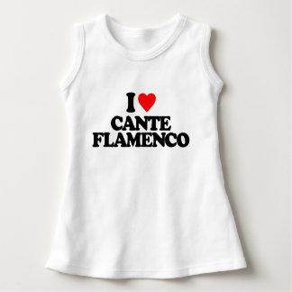 私はCANTEのフラメンコを愛します ドレス