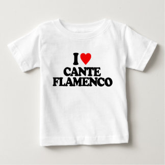私はCANTEのフラメンコを愛します ベビーTシャツ