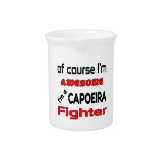 私はCapoeiraの戦闘機です ピッチャー