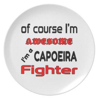 私はCapoeiraの戦闘機です プレート