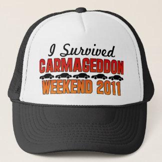 私はCarmageddonの週末2011年を生き延びました キャップ