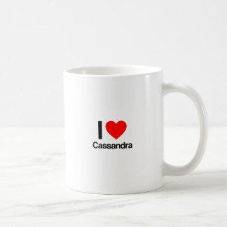 私はcassandraを愛します コーヒーマグカップ