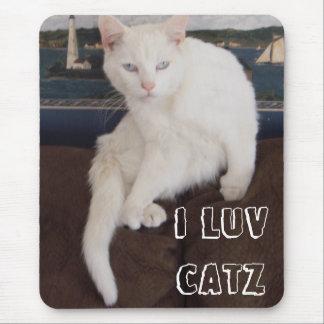 私はCatzをlove マウスパッド