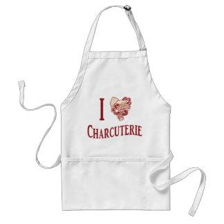 私はCharcuterieを愛します スタンダードエプロン