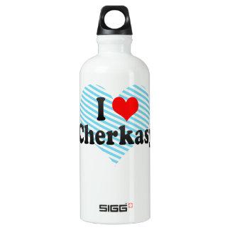 私はCherkasy、ウクライナを愛します ウォーターボトル