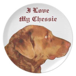 私はChessieの私のプレートを愛します プレート