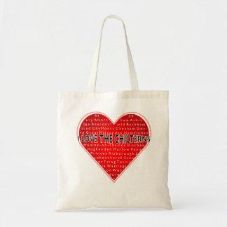 私はChilternsを愛します トートバッグ